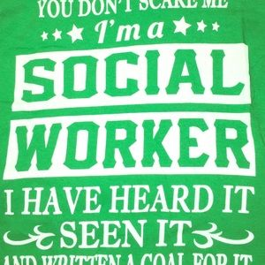For your social worker friend!